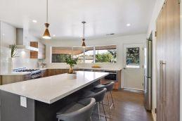 mid-century kitchen island
