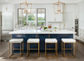Modern Farmhouse; finishes by Susan Love